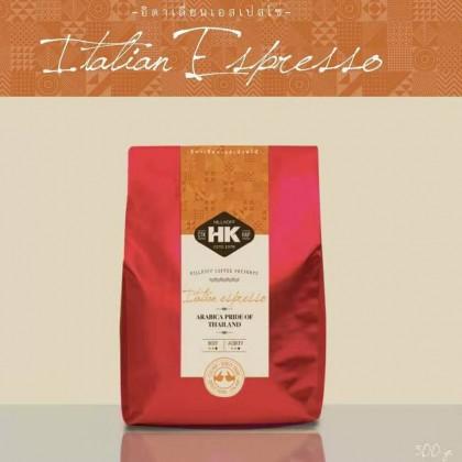 Arabica Coffee Beans - Italian Espresso (Darker Roast) 500g