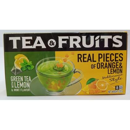 Tea&Fruits Green Tea Lemon & Mint