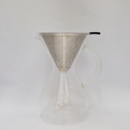 DE DRIPPER 8PAX GLASS HANDLE