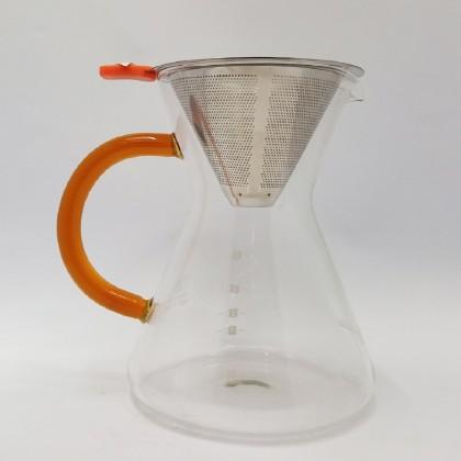 DE DRIPPER 4PAX GLASS HANDLE