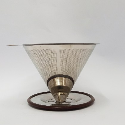 Stainless Steel Double Layer Filter (1-4pax)