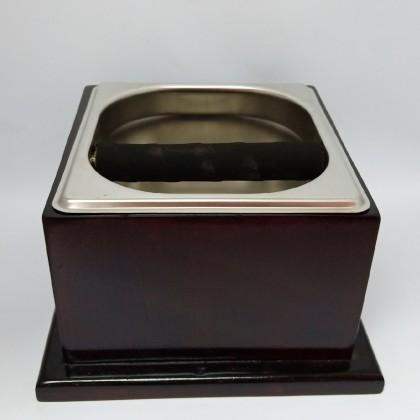 Knockbox - Wooden Box Brown Color