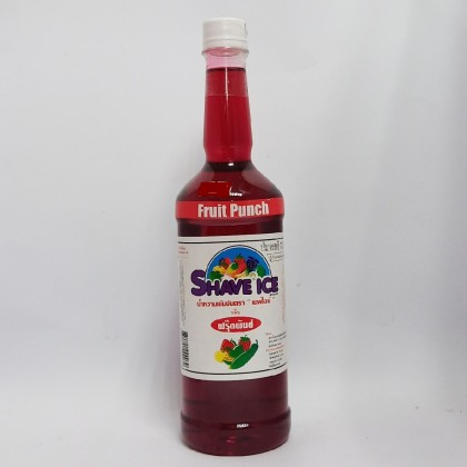 Shave Ice Syrup Fruit Punch
