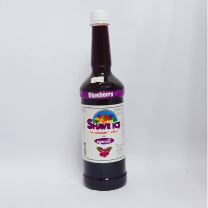 Shave Ice Syrup Blueberry