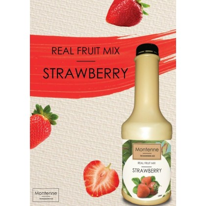 MONTENNE REAL FRUIT MIX STRAWBERRY